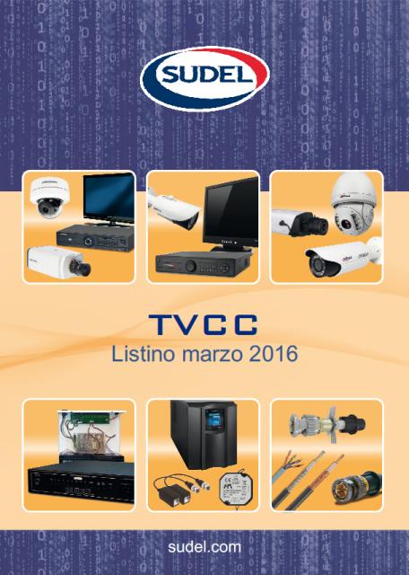 SUDEL LISTINO TVCC MARZO 2016